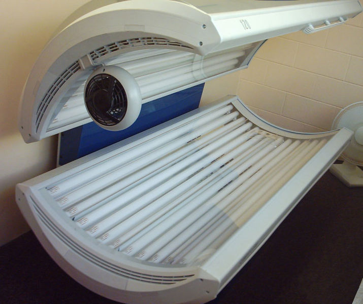 What's the only time you should go near a tanning bed? When it's unplugged and turned off! Ha ha ha.