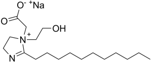 Sodium lauroamphoacetate  is an amphoteric surfactant.