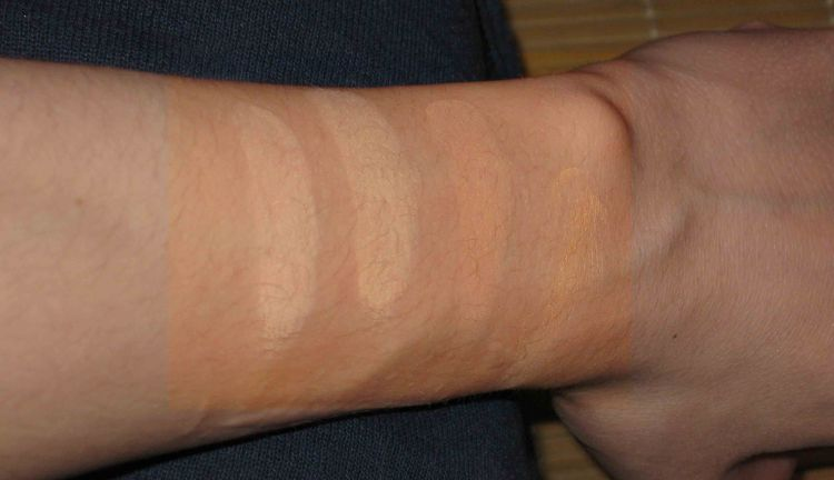 E. L. F. Complete Coverage Concealer Swatches