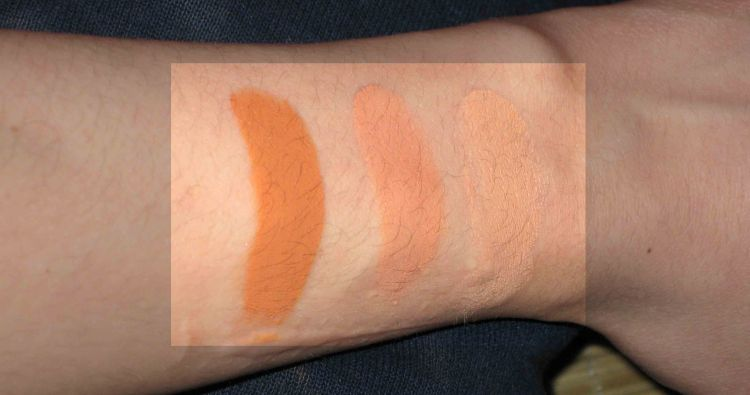 Eve Pearl Concealer Swatches