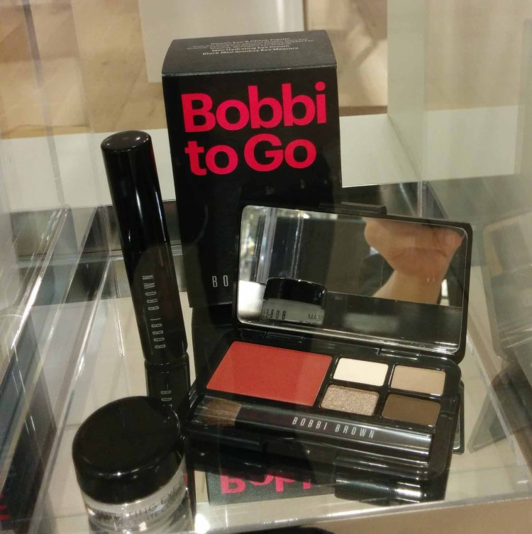 Bobbi Brown. Gift with ~$100 purchase.