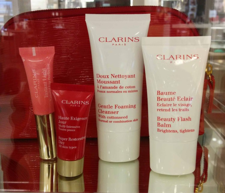 Clarins. Gift with ~$75 Purchase.