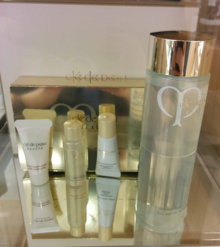 Cle de Peau. Gift with ~$300 purchase.