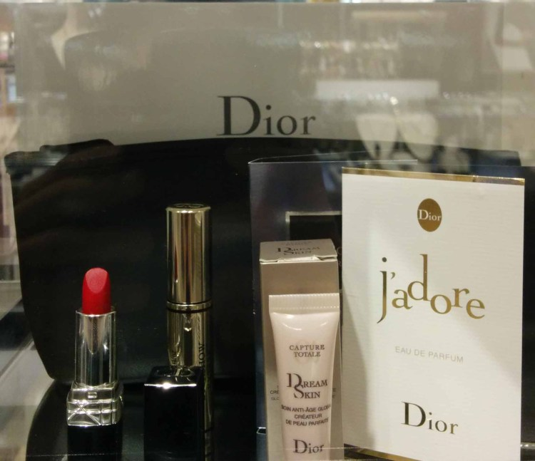 Dior. Gift with ~$125 purchase.