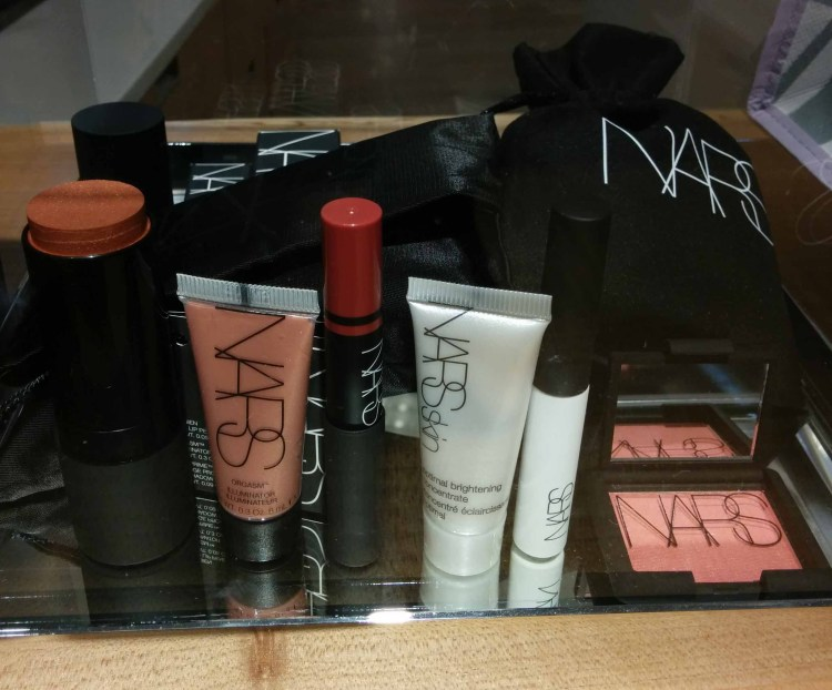 NARS. Gift with ~$100 purchase.