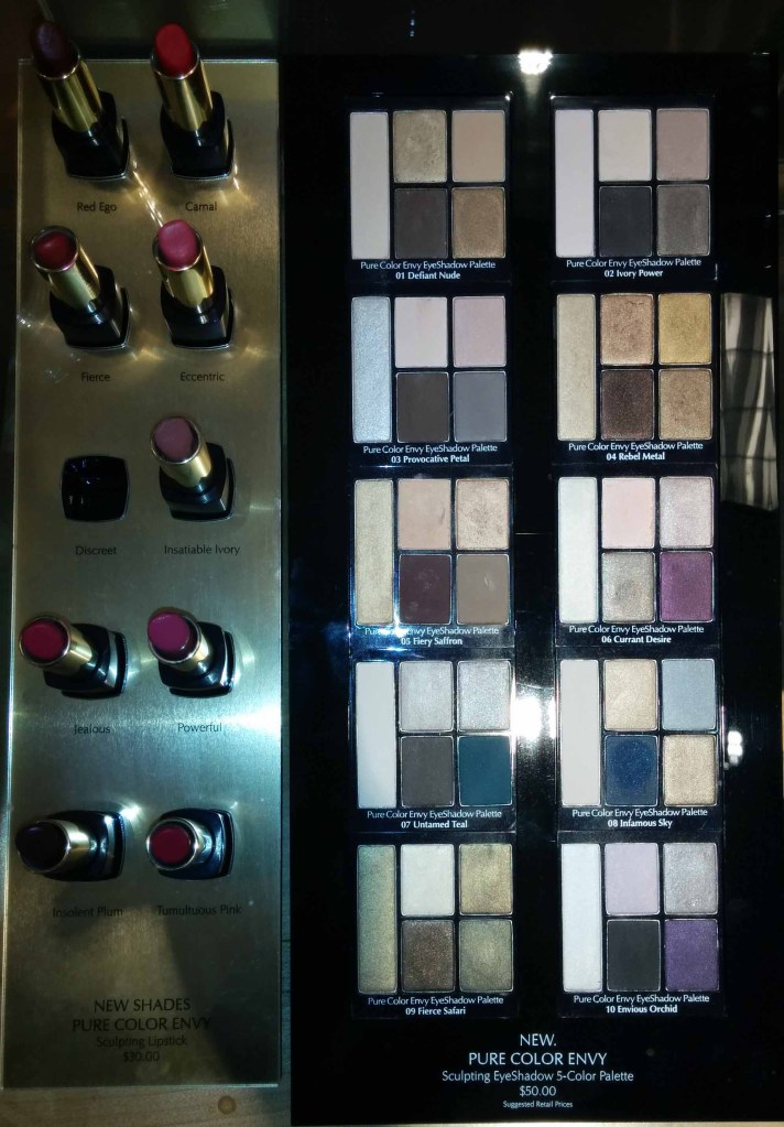 Estee Lauder New Lip and Eye Releases