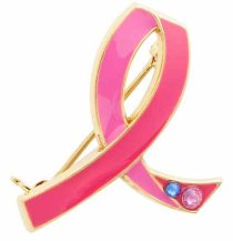 Estee Lauder Breast Cancer Awareness Pin ($12.50). It's October and it's BC month! Show your support!